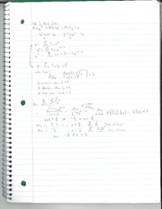 Differential Equations Class Notes Chapter 5