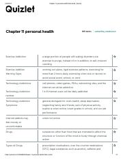 Chapter 11 personal health Flashcards.pdf