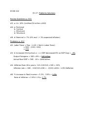 ECON 102 Ch 27 Problems Solutions