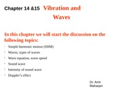 College Physics Transition Waves lecture slide 3