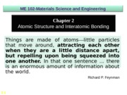 MSE 102 chapter  2