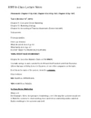 X100 Class Lecture Notes 9-28-11