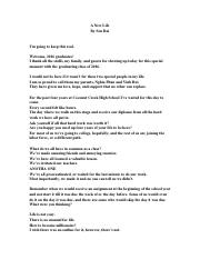 Life is a learning process essay example