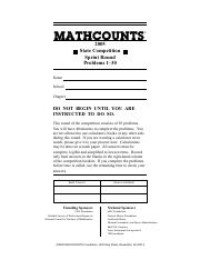 2005 mathcounts foundation 2005 state answer key 253 target round 1 2005 mathcounts foundation 2005 state answer key 253 target round 1 2 3 4 6 7 8 fandeluxe Images
