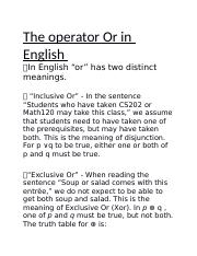 The operator Or in English.docx