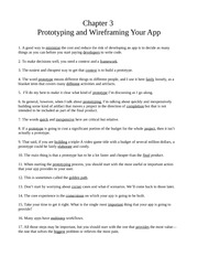 Chapter Three - Prototyping and Wireframing Your App