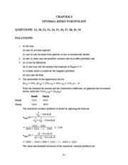 Practice Question Solution Ch06