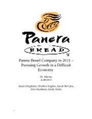 panera bread company in 2012 pursuing growth in a weak economy Dissertation / strategy project : panera bread company in 2012 - pursuing growth in a weak economy  enterprise growth enterprise growth  panera bread company in 2012 - pursuing growth in a weak economy december 2014 – december 2014 capstone project.