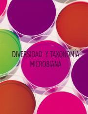 2 Diversidad Y Taxonomía Microbiana Ppt Diversidad Y