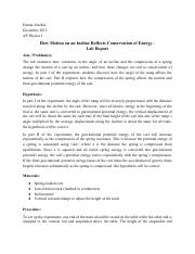 AP Physics I - Conservation of Energy Lab Report.pdf