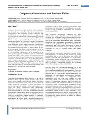#12 2013 (5)Corporate governance and Business ethics