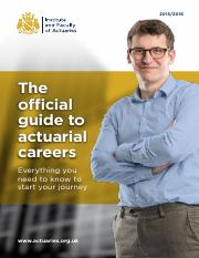 IFoA Guide_to_Actuarial_Careers_2015-16