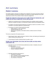 External Auditing.summary.pdf