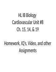 HL IB Hmwk_IQ's, & video info_Unit #9