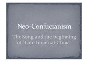 Week 9 commercial revolution and neo confucianism