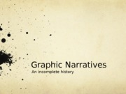 History of graphic narrative