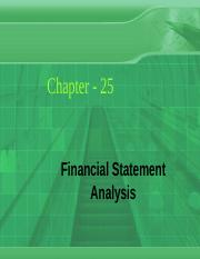 Ch_25_ Financial Statement Analysis.ppt
