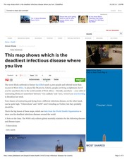This map shows which is the deadliest infectious disease where you live | GlobalPost