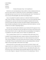 Homework Descriptive Essay.docx