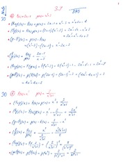 Homework 3.7 and 4.1 Solution
