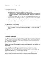 Lecture Notes 06-26 and Reading Notes.docx