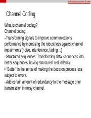 Lecture3_part(2) Channel Coding