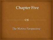 Personality Chapter 5(1)