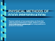 Lecture - Physical Preservation Methods