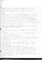 SPD 121 Class Notes- Organizing the Body of the Speech