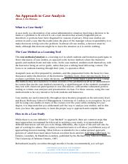 An Approach to Case Analysis_guideline By Ailson J. De Moraes.docx