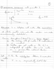 Written notes Probability II