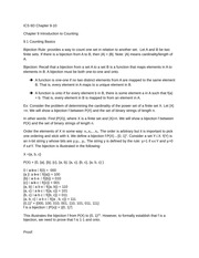 ICS 6D Chapter 9 Introduction to Counting