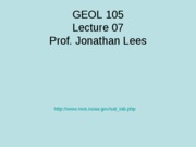 Geol105_Lecture_07