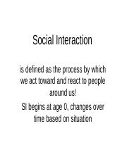 Social Interaction.ppt