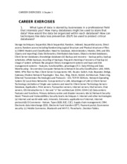 CAREER EXERCISES 1 Chapter 3.docx