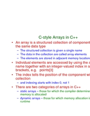 L11 - arrays and strings