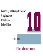 L09-chapter10-File structure