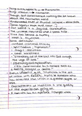 Intuition Mysticism Notes