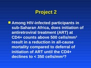 HIVProjectOverview