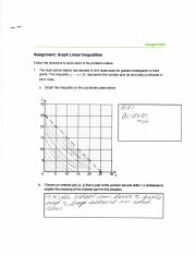 Graphing Linear Equations 1
