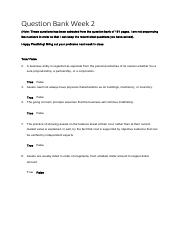 Week 2_Question Bank with solutions.pdf