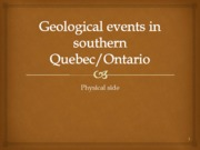 1 geologic events 2013
