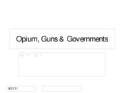 Opiumgunsgovernments