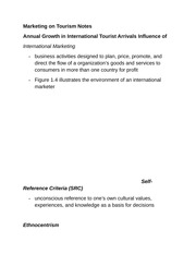 Marketing on Tourism Notes
