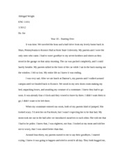College Writing Paper 1