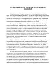 CRITIQUE FOR THE ARTICLE (2).docx