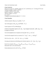 Chem 1212 Final Study Guide
