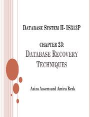 lecture7 _ Database System II- IS313P.pdf