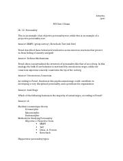 Psy study guide 3
