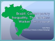 Lecture 7 Brazil Inequality